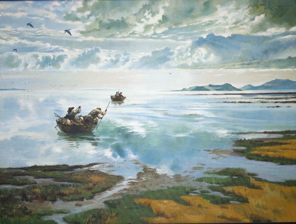 Circumnavigating the Great Salt Lake by Dale R. Bryner