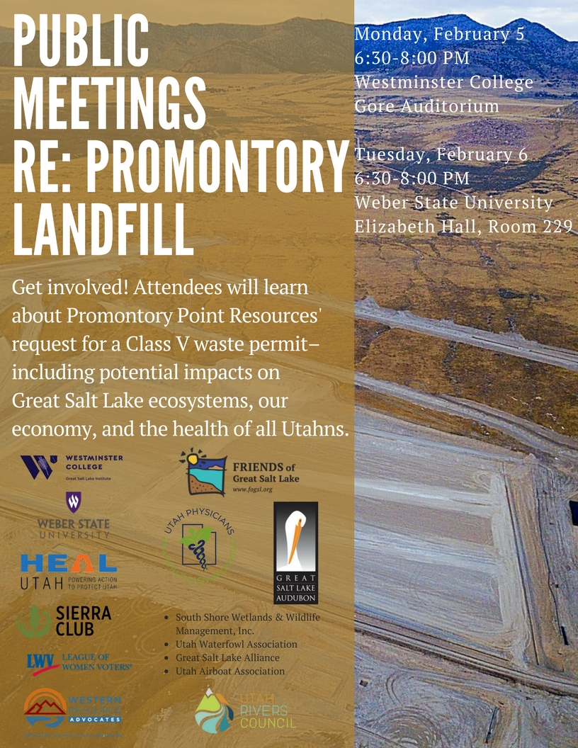 Public meeting Re Promontory Landfill 2